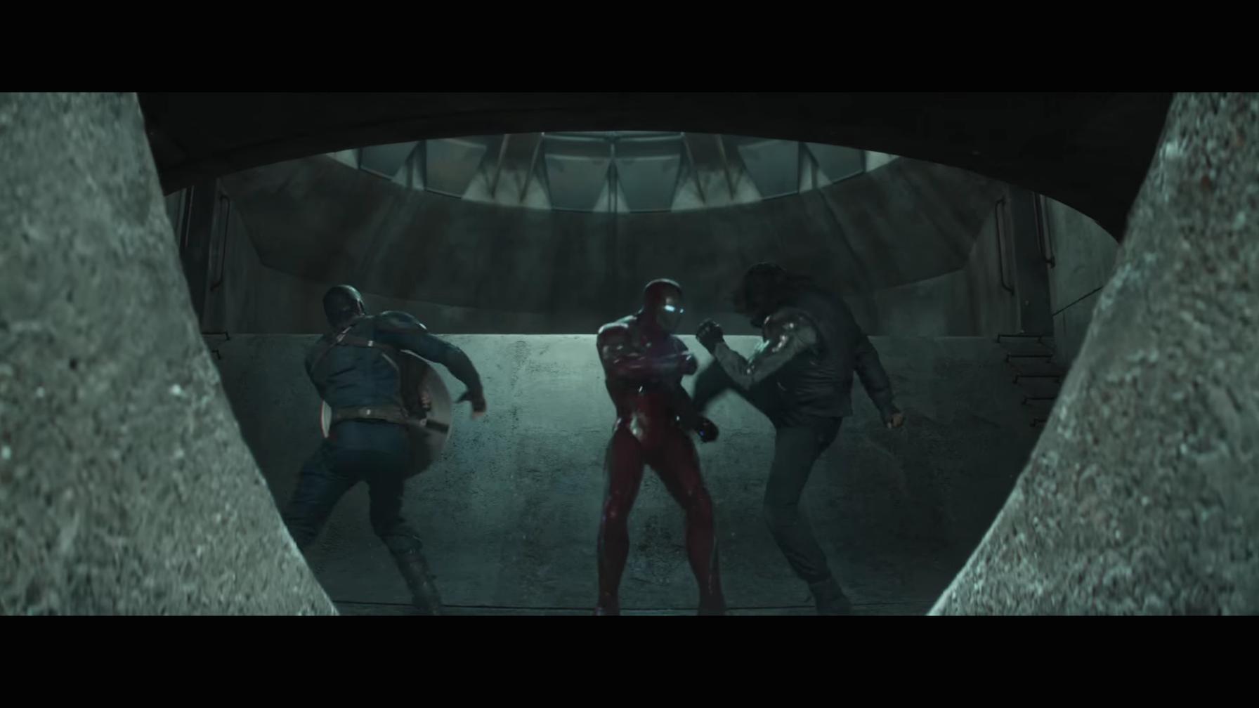 Kapitan Ameryka Iron Man Bucky